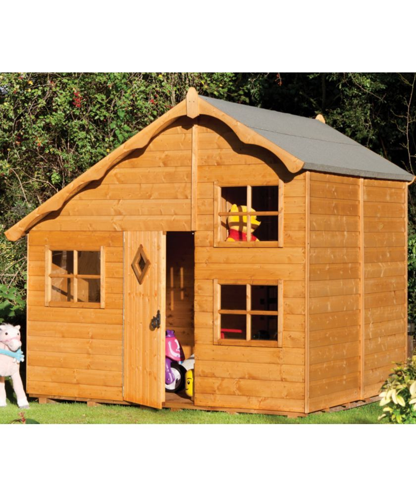 Buy Rowlinson Playaway Swiss Cottage At Argos Co Uk Your Online Shop For Playhouses Pre School Play Houses Swiss Cottage Build A Playhouse