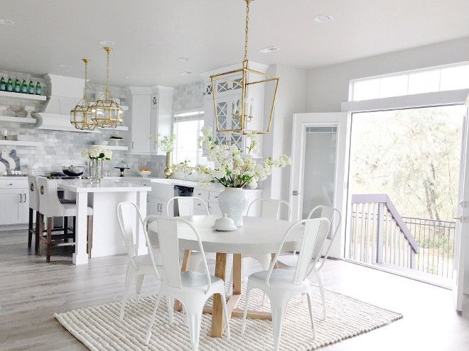 Beautiful Homes of Instagram Kitchens Pinterest Beautiful - weiße küche welche arbeitsplatte