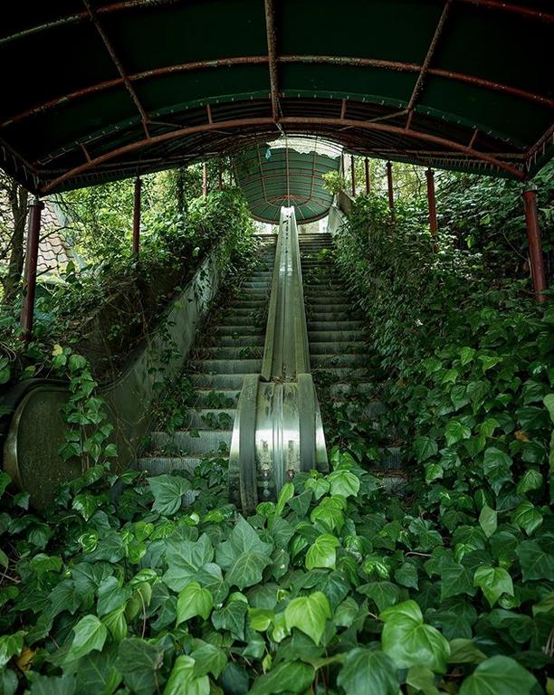 Wenn die Natur wieder übernimmt 19 einmalige Fotos von verlassenen Orten is part of Nature - Wir kennen sie aus düsteren Science FictionFilmen aus Hollywood verlassene Städte in einer fernen Zukunft, die wieder von der Natur zurückerobert wurden  Aber Bilder dieser Art gibt es tatsächlich auch in der Realität!