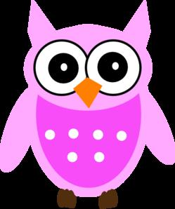 Pink Owl Free Clip Art Clip Art Borders Clip Art