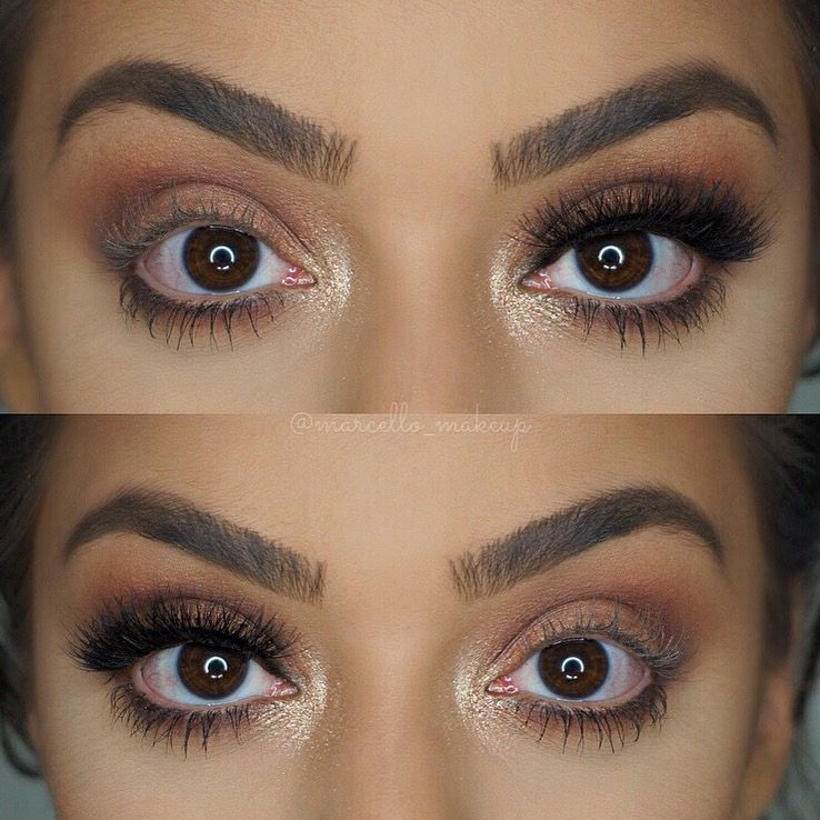 ca3b4c4f103 The difference lashes make! Vegas_nay grand glamour lashes ...