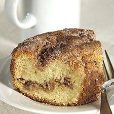 Barbara S Watch Hill Sour Cream Coffeecake King Arthur Flour Coffee Cake Recipes Sour Cream