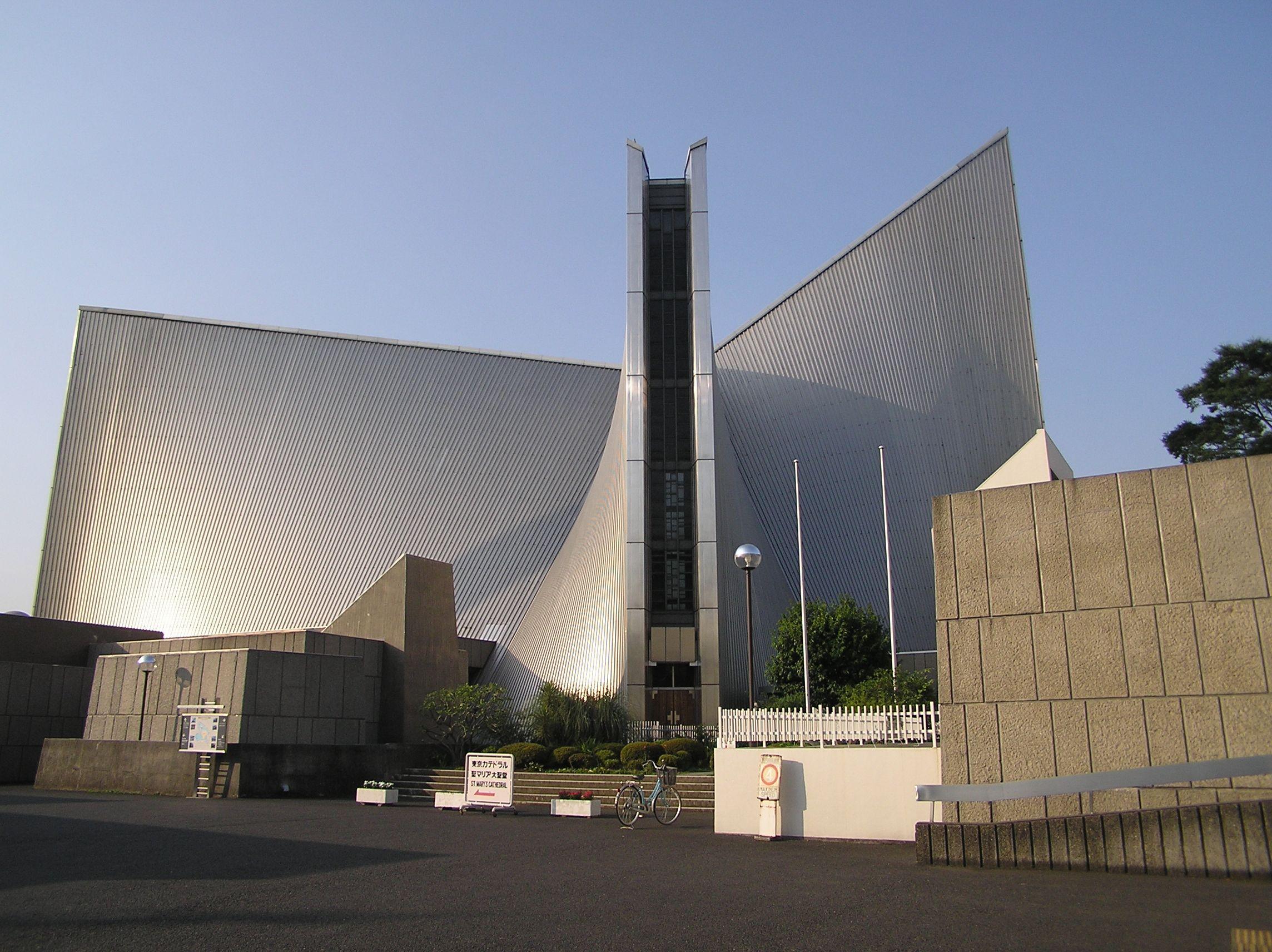 Cattedrale di Santa Maria, Tokyo (19611964) Kenzo Tange