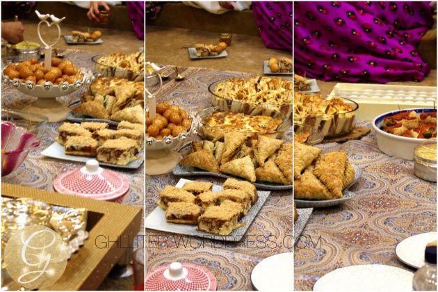 رمضان ١٤٣٨ حفلة قرقيعان و تنسيقات زينة اصنعيها بنفسك Sweets Bar Party Food Tasty
