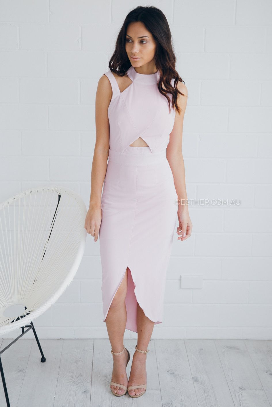 ruby sees all money talks dress - orchid pink | Esther clothing ...