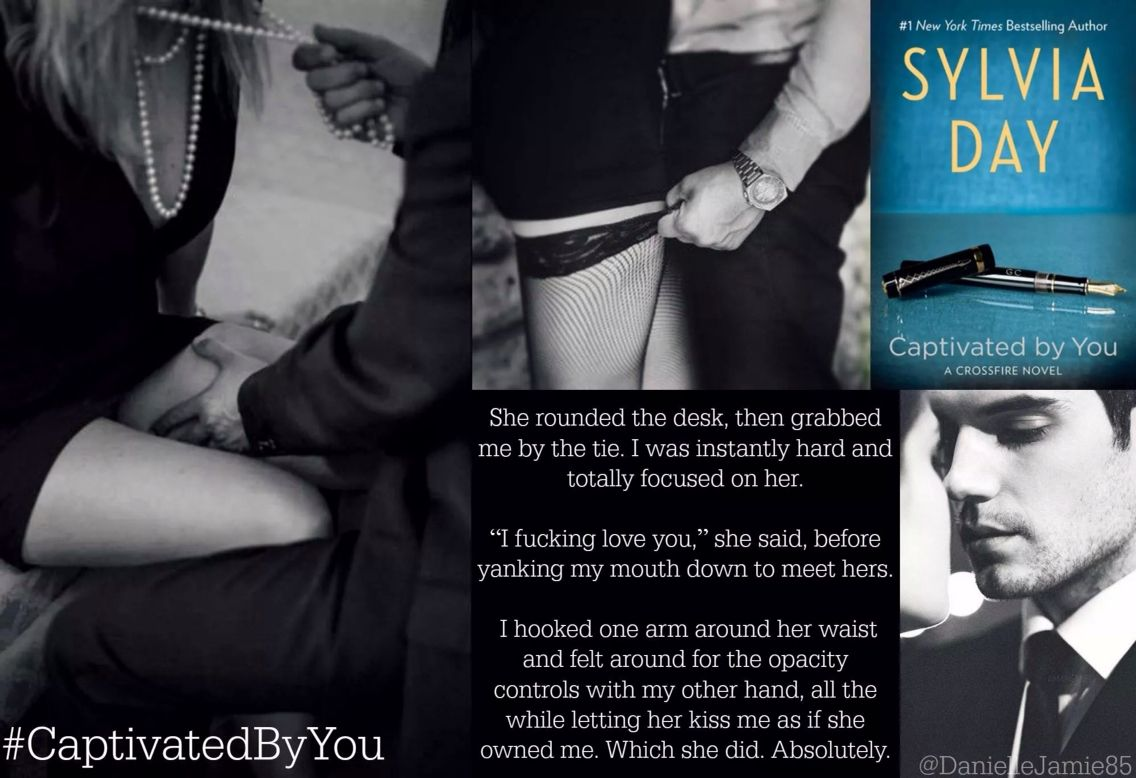 Captivated by you by sylvia day sylvia day book