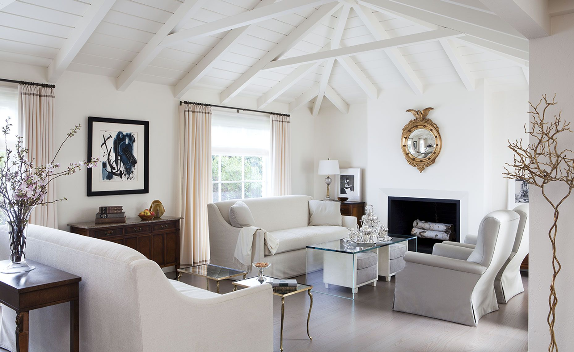 Heather Hilliard Design Is A High End Interior Design Firm Living Rooms Family Rooms