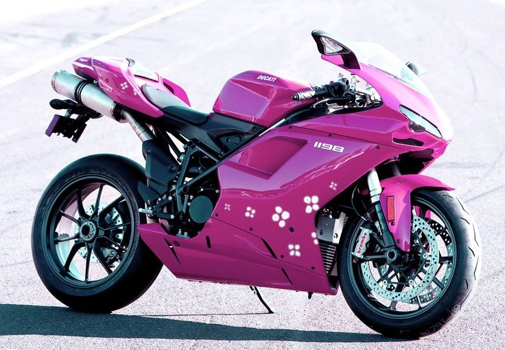 Pink Ducati | ducati pink and black, ducati pink coolant ...