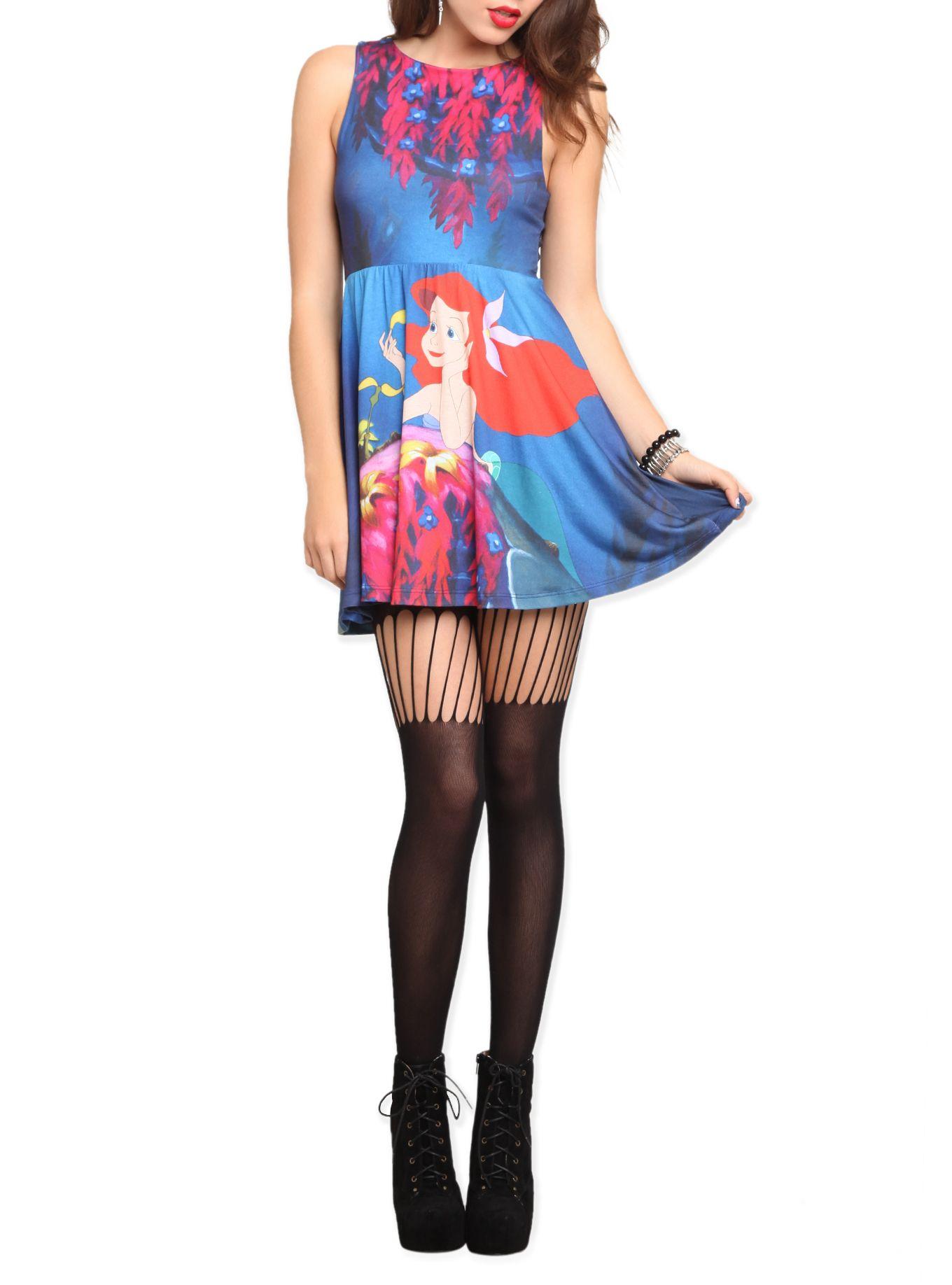 Dresses skirts clothes women disney store - Disney The Little Mermaid Ariel Dress Hot Topic