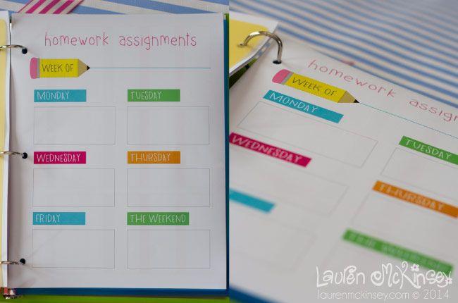diy homework planner - Gidiye.redformapolitica.co