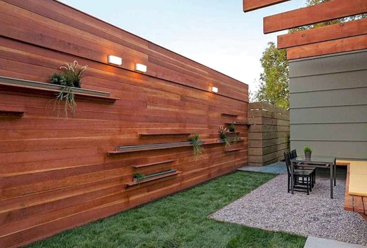 Stunning Backyard Privacy Fence Decoration Ideas On A Budget Frugal Living Wood Fence Design Fence Design Privacy Fence Designs Backyard modern wood fence