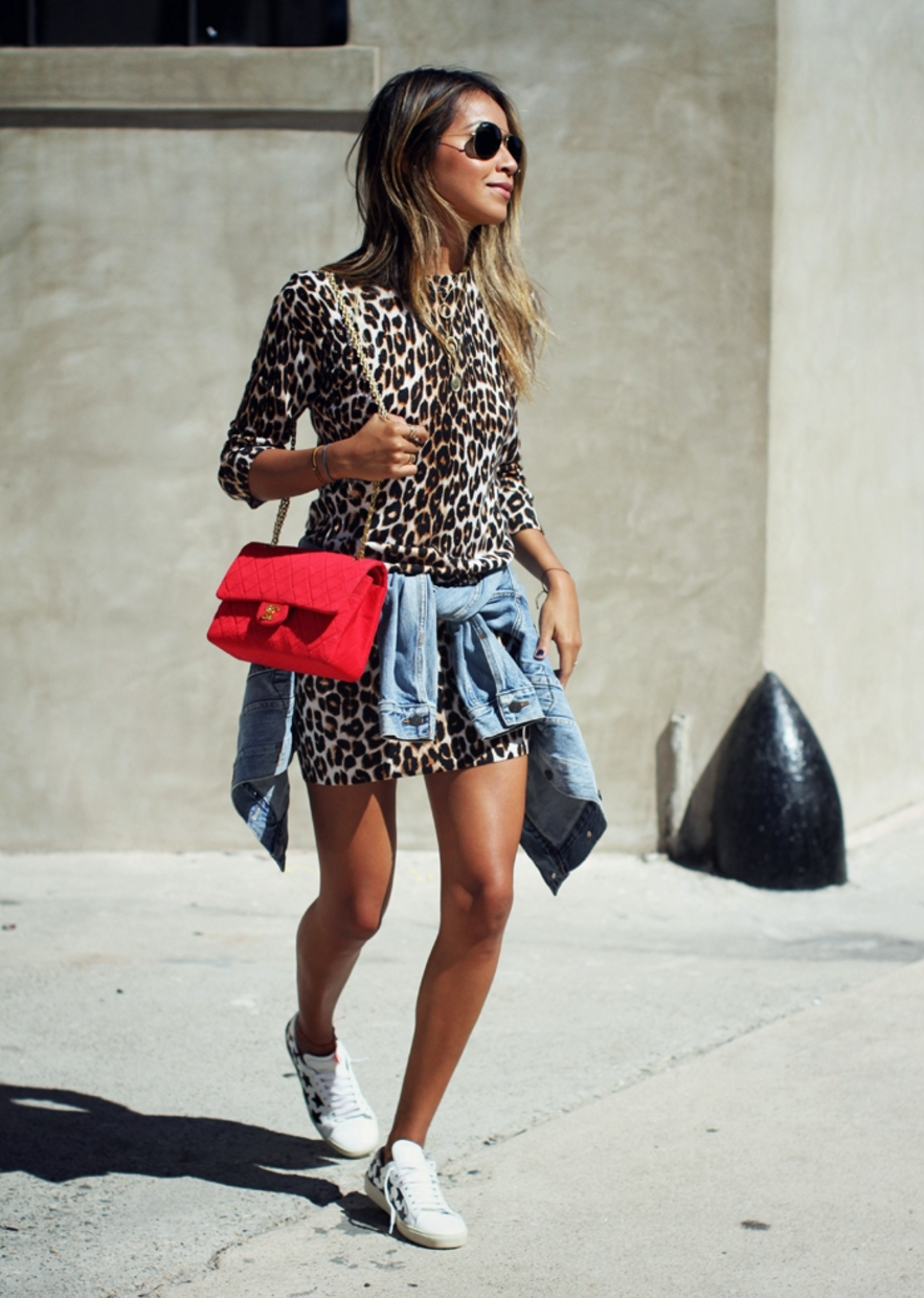 #OOTD: Sincerely Jules Is on the Prowl in Animal Print #RueNow