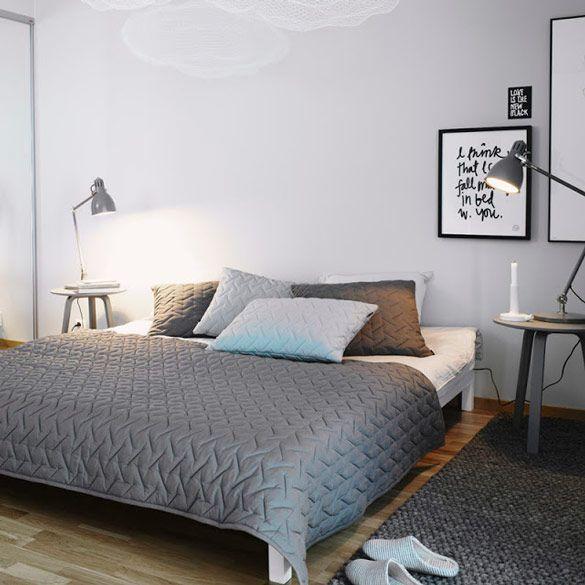 Apartment Styled By Lotta Agaton Nordic Design Grey Bedroom Design Scandinavian Design Bedroom Bedroom Interior