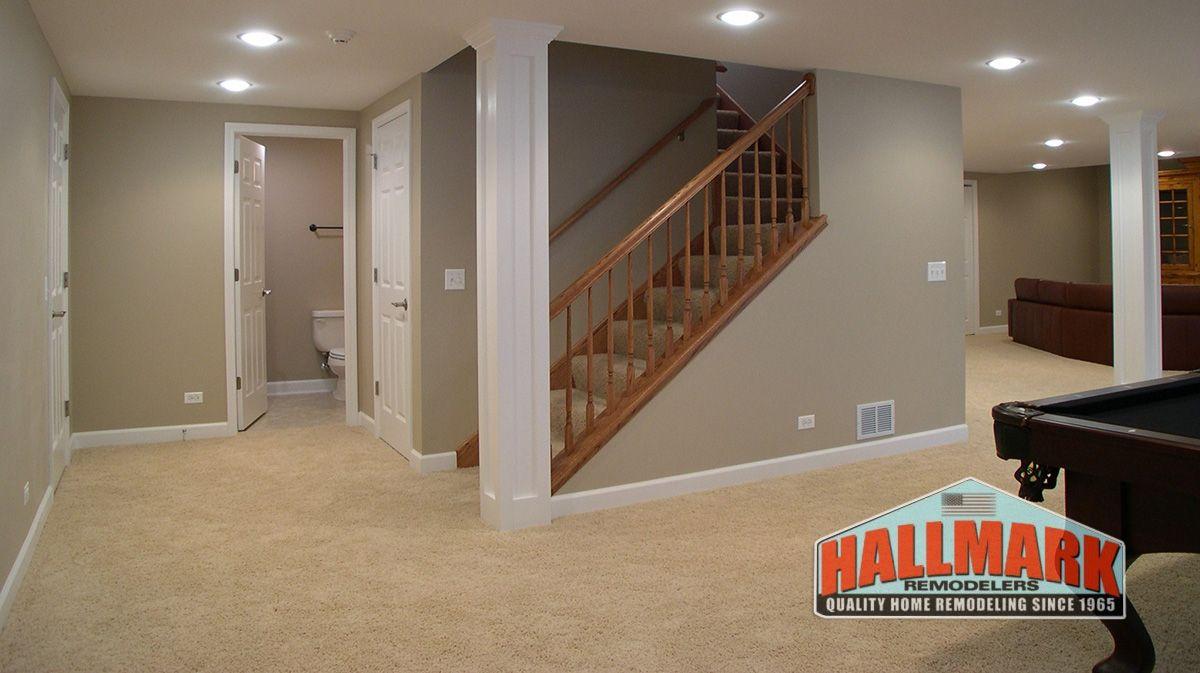 Basement Remodel Contractors basement remodeling contractor montgomery county | hallmark