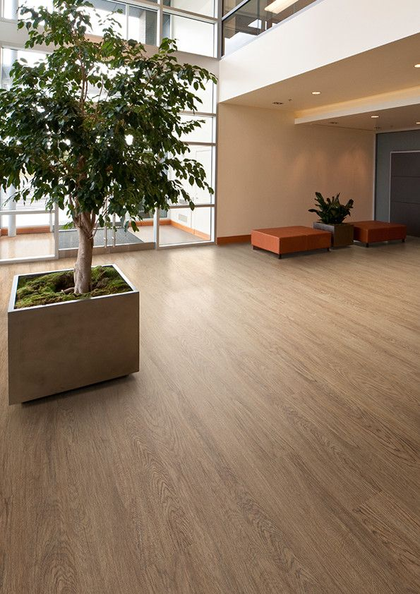 Office space featuring Affinity255 luxury vinyl flooring