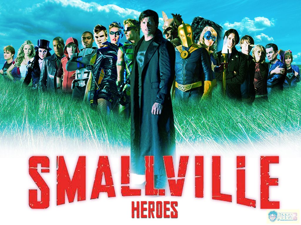 Justice league and justice society of smallville ...