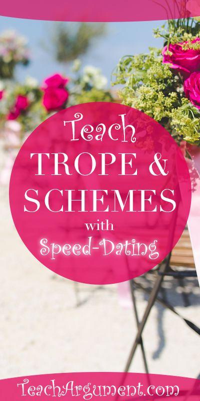 speed dating teaching english