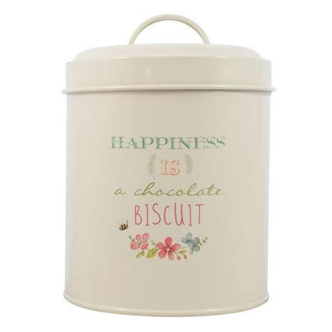 Country Happiness Biscuit Tin