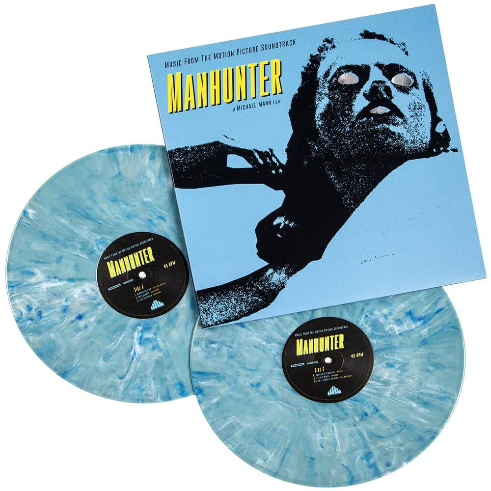 Various Artists Manhunter Vinyl Lp X 2 Psilowave Records Waxwork Grindhouse Vinyl