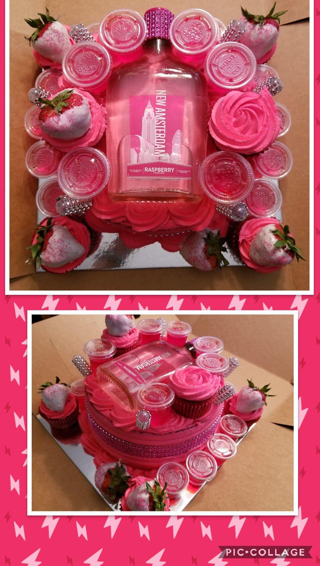 Raspberry Amsterdam Fully Loaded Cake Red Velvet Cake With Jello