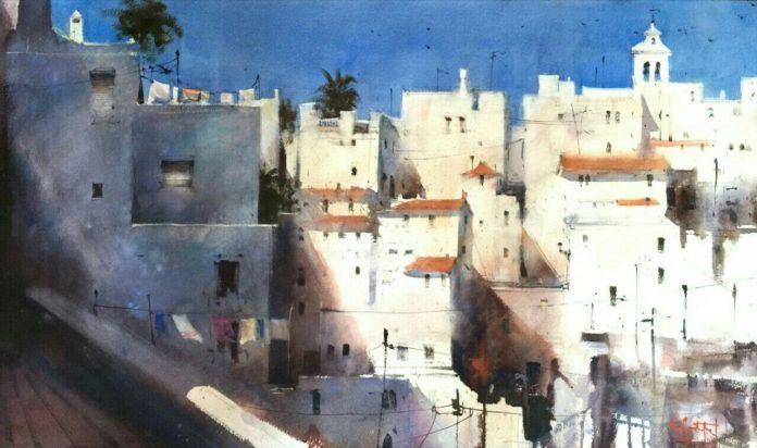 Galeria de Arte Trino Tortosa - Cádiz   Álvaro Castagnet  #alvarocastagnet #acuarela #watercolor #galeriadeartetrinotortosa #ventadearte