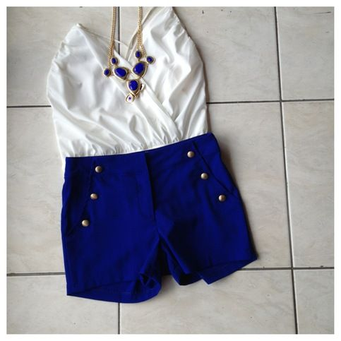 Royal+blue+shorts+with+gold+buttons.