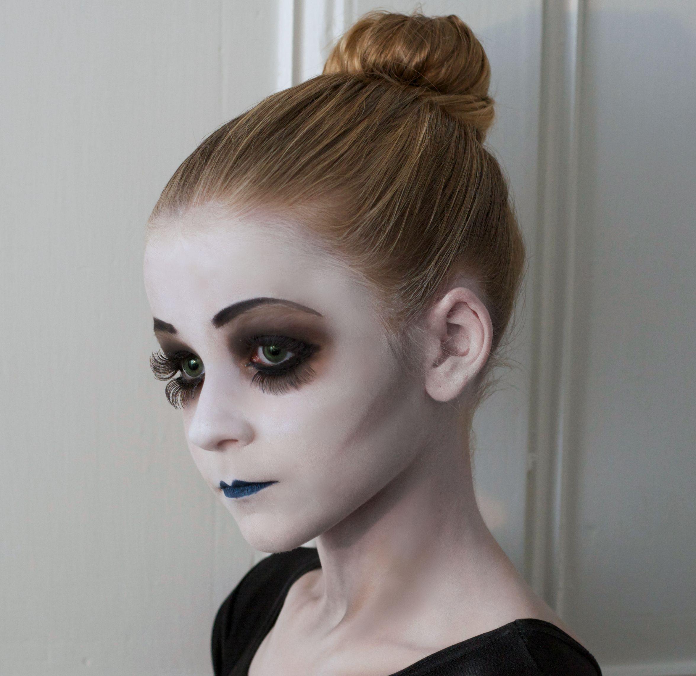 Dead Ballerina Halloween makeup Jimmy Cattin makeup Halloween