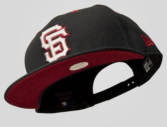 77f6a5130f57c Custom San Francisco Giants 19Twenty Snapback Cap by NEW ERA x MLB ...