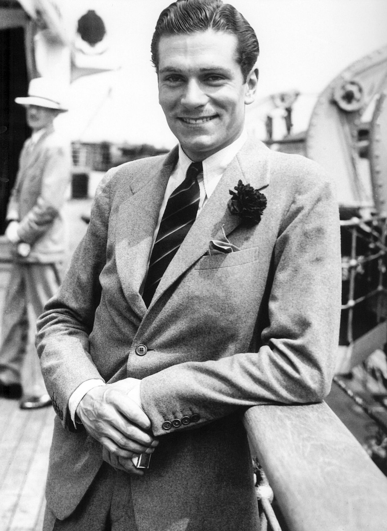 laurence olivier 1933 suit by savile row insitution