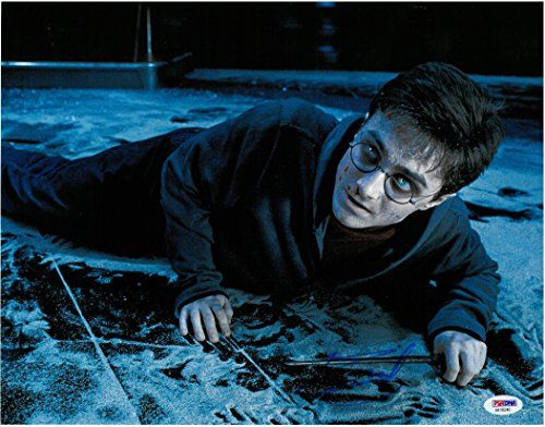 Daniel Radcliffe Signed Harry Potter Authentic 11x14 Photo PSA/DNA #AA18240 @ niftywarehouse.com #NiftyWarehouse #HarryPotter #Wizards #Books #Movies #Sorcerer #Wizard