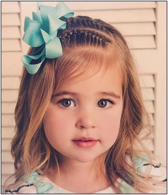 145 Hairstyles For Girls Picture Day 27 Fashionspecialday Com Coiffure Petite Fille Idees De Coiffures Coiffure Facile