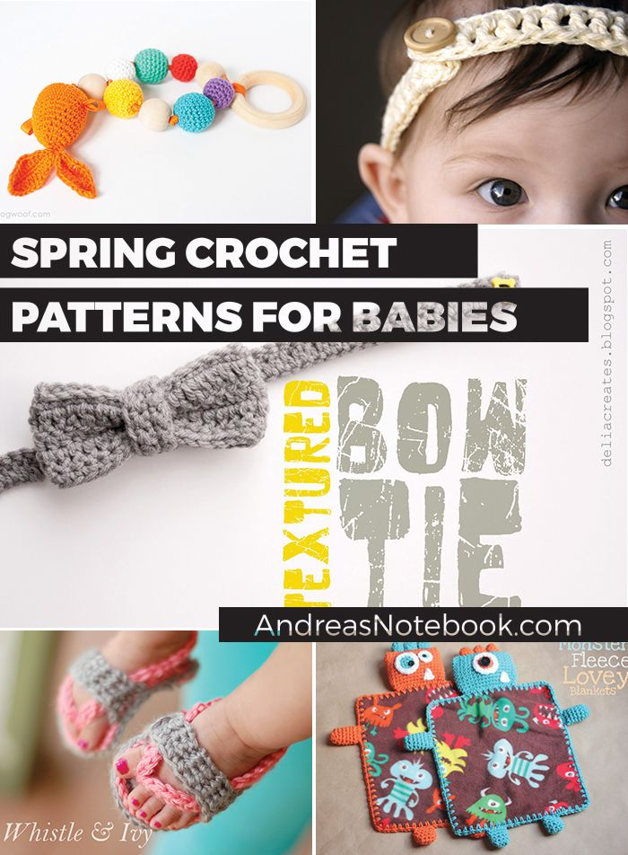 Roundup of fantastic crochet patterns perfect for babies ...