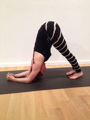 kathryn budig challenge pose charging scorpion  yoga