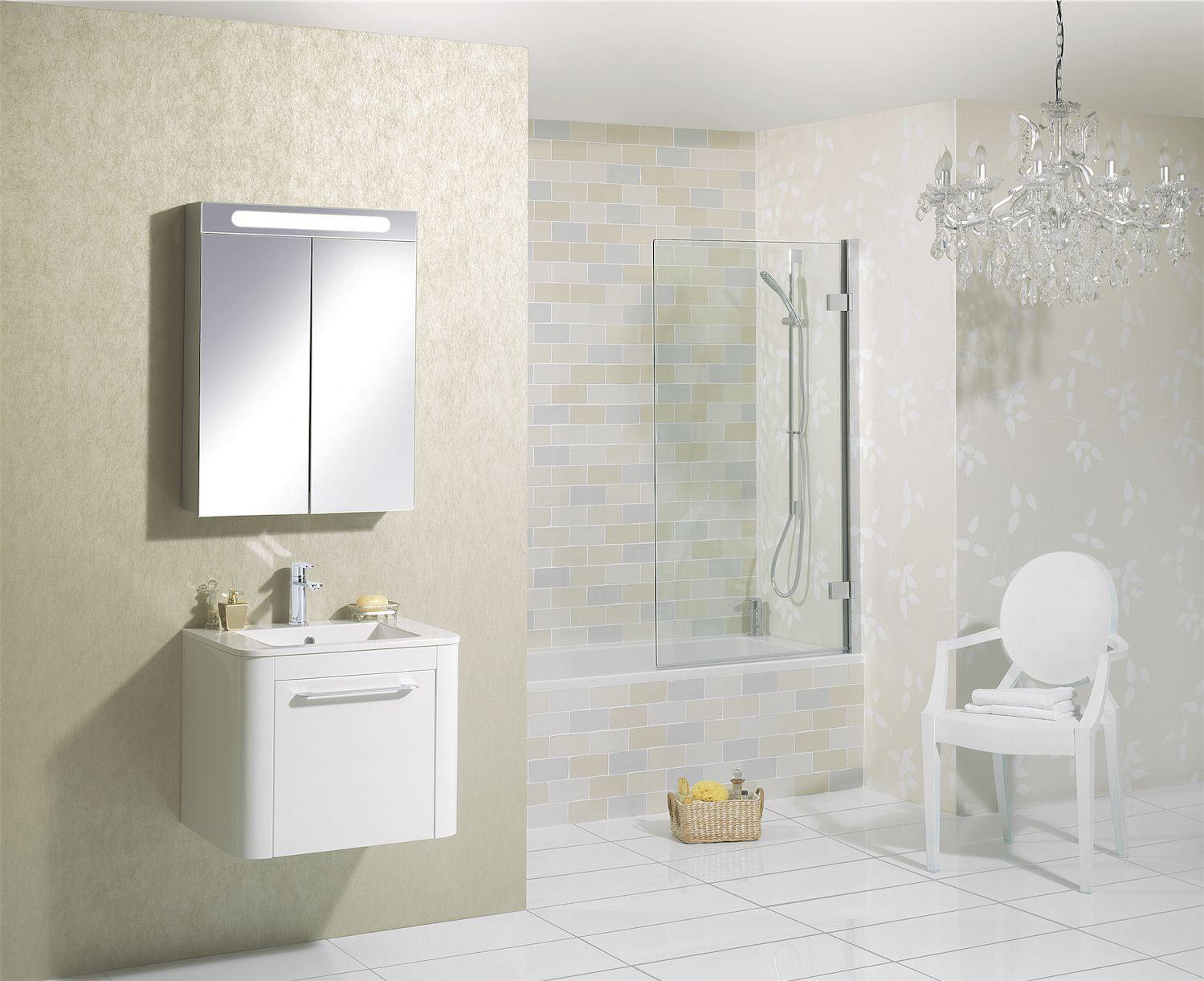 Celeste White Gloss Bathroom Furniture Range from Crosswater http ...