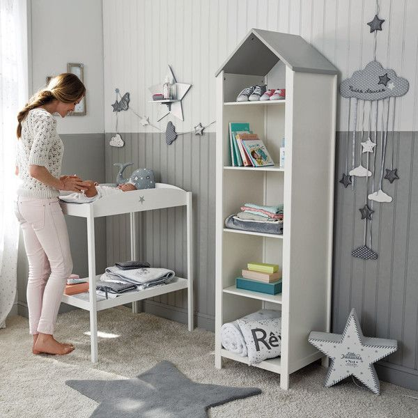 Grey And White House Bookcase Chambre Bebe Maison Du Monde Decoration Chambre Bebe Chambre Bebe