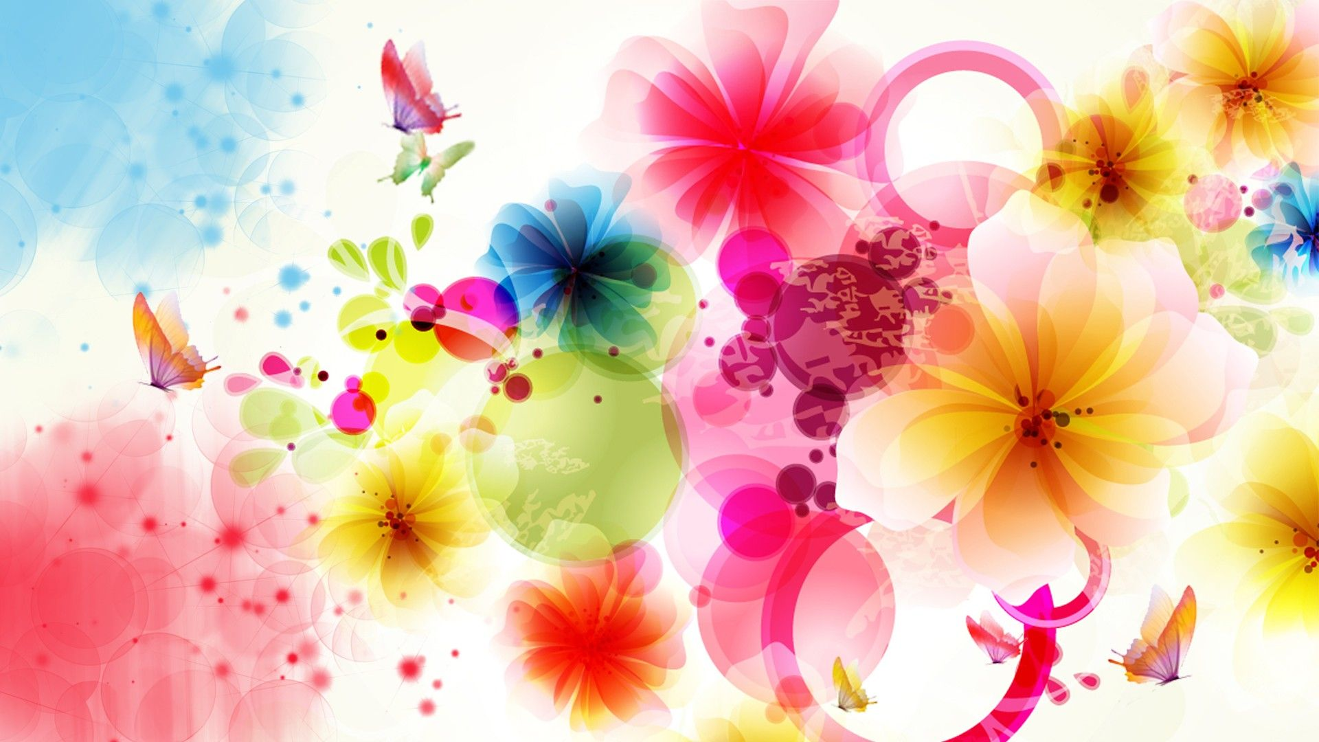 Abstract Flower Wallpaper High Definition High Quality Widescreen