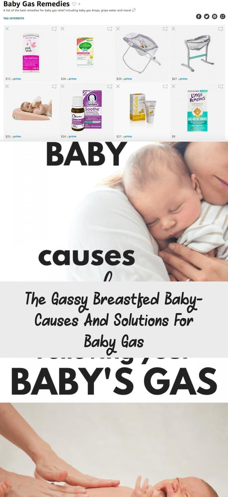 The Gassy Breastfed Baby Cause and Solutions for Baby Gas - Mother Baby #br ...