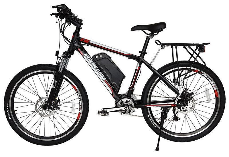 X Treme Rubicon 48 Volt High Power Long Range Electric Mountain Bicycle Bike Electric Mountain Bike Electric Bicycle Bicycle