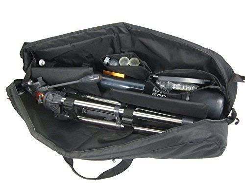 Protective and padded telescope carry case fits astromaster az