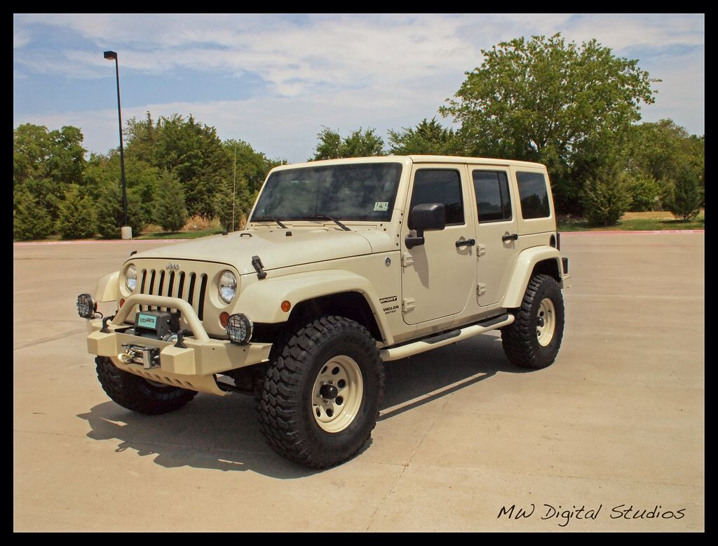 Sahara Tan Jeep Wrangler Unlimited (With images) Jeep