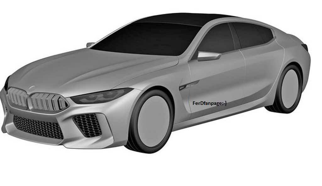 Bmw M8 Gran Coupe Revelados Supostos Desenhos De Patente