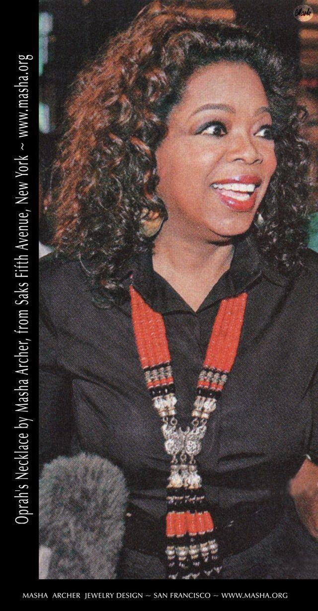 Oprah Winfrey in Masha Archer.