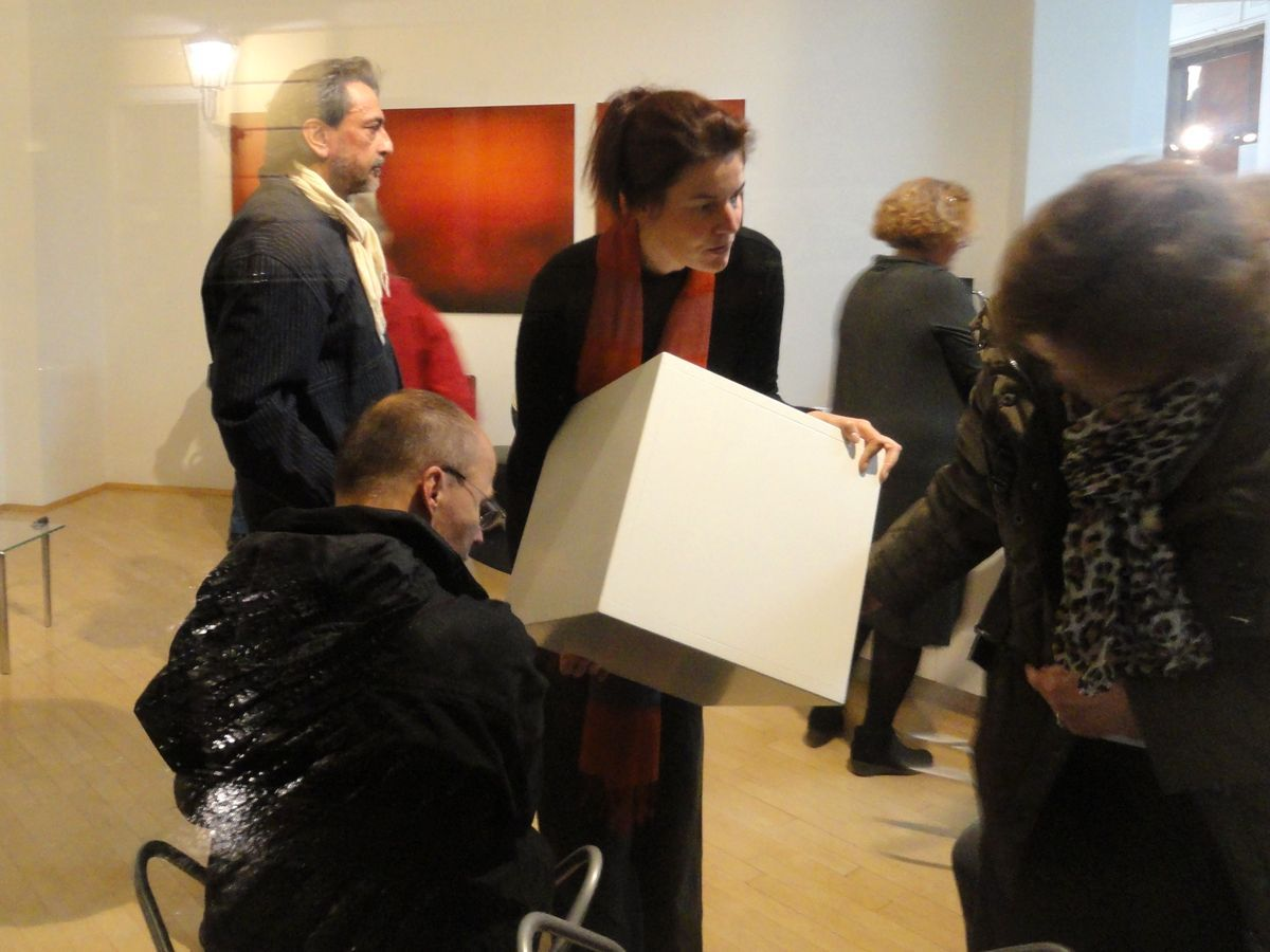 Olaf Bohme Liest Eigene Prosa In Galerienuett Zur Kubanight Dresden Am 11 10 2013 In Kunstindresden Konzerte Dresden Museum