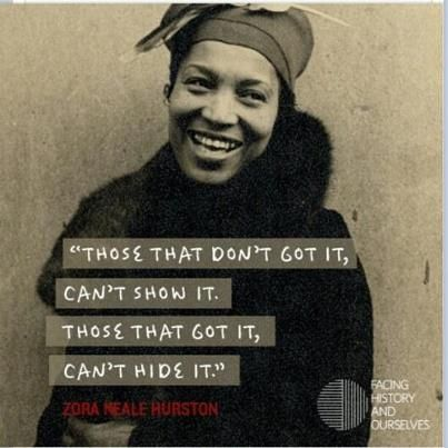 "ZORA NEALE HURSTON: ""Considered one of the pre-eminent writers of twentieth-century African-American literature. Hurston was closely associated with the Harlem Renaissance and has influenced such writers as Ralph Ellison, Toni Morrison, Gayle Jones, Alice Walker, and Toni Cade Bambara."" #womancan #inspiringwomen"