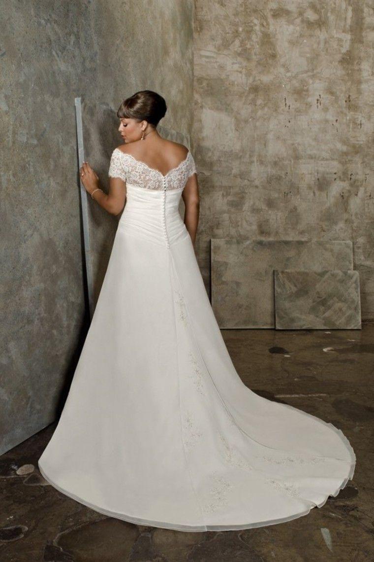 Beautiful plus size wedding dress wedding ideas pinterest