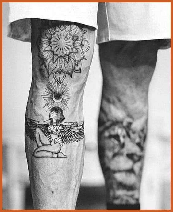 Photo of Leg Tattoos Designs – Badass Leg Tattoos for Men and Women-  #Badass #Designs …