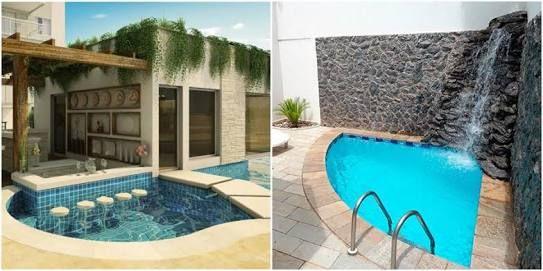 Resultado de imagen para piscinas pequenas toscana for Jacuzzi en patios pequenos