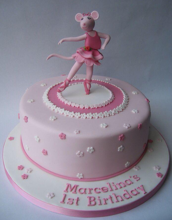 Awesome Angelina Ballerina Cake Ballerina cakes Angelina