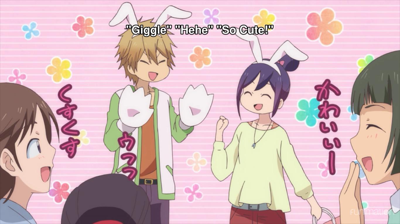 KISS HIM NOT ME kawaii Anime chibi, Kissing him, Anime