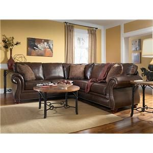 Sanremo Sectional By Broyhill. Traditional Styling For Today: The Sanremo  Sectional Sofa Can Be Customized With Your Choice Of Performance Leather,  ...